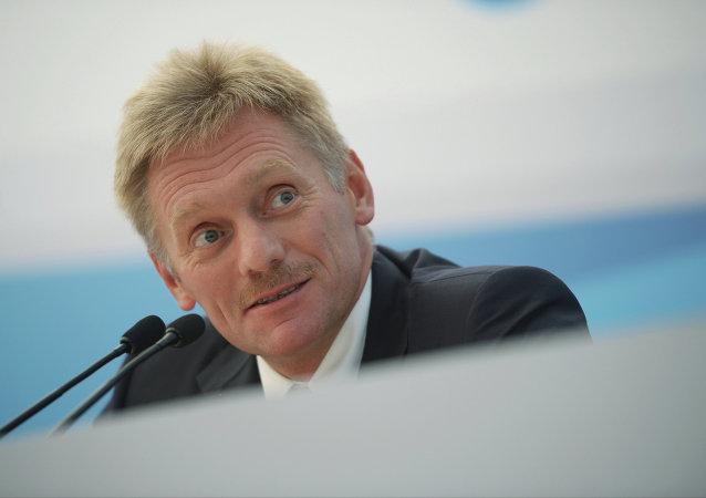 俄总统新闻秘书否认普京与英国歌手艾尔顿·约翰交谈过