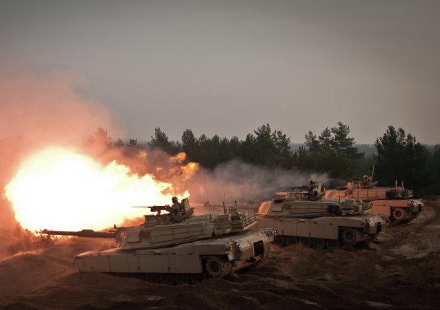 拉脱维亚野战战术训练在北约军事演习框架下开始