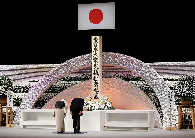 日本举行2011年地震海啸遇难者纪念活动