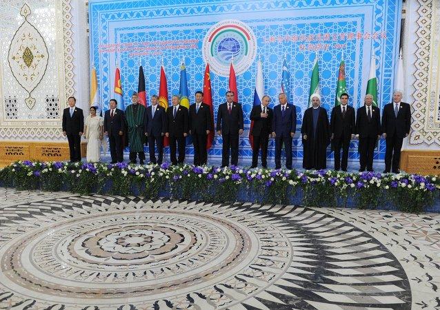 上合组织国家峰会 (杜尚別,2014年9月12日)