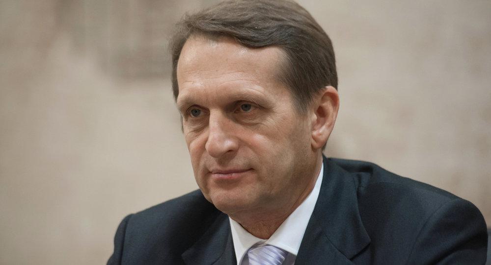 俄罗斯联邦对外情报局局长纳雷什金