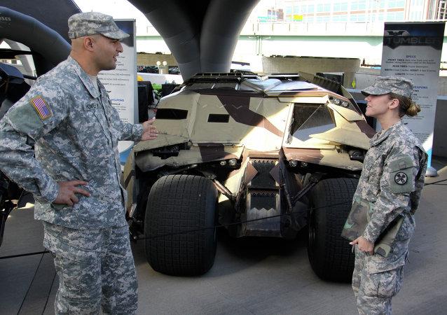 美国将增援乌克兰 包括无人机和越野车