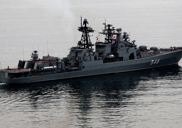 '潘杰列耶夫海军上将' 大型反潜舰