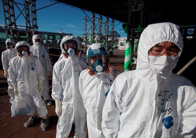 """因机器人损坏对日本""""福岛-1""""号核电站第一反应堆的检查暂停"""