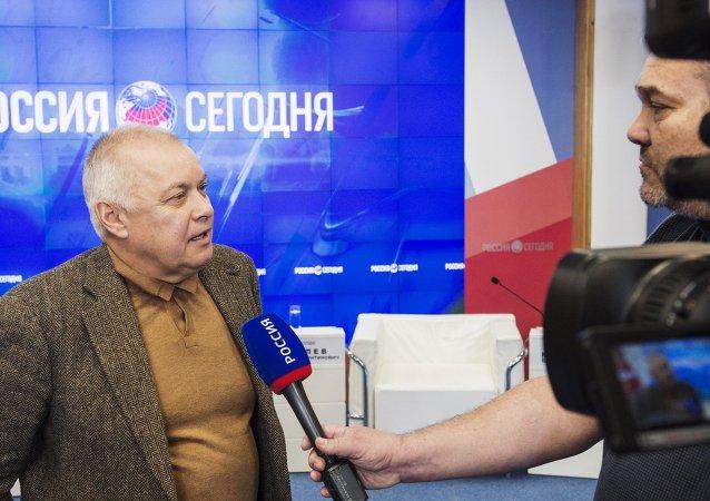 """""""今日俄罗斯""""在克里米亚开设多媒体新闻中心"""