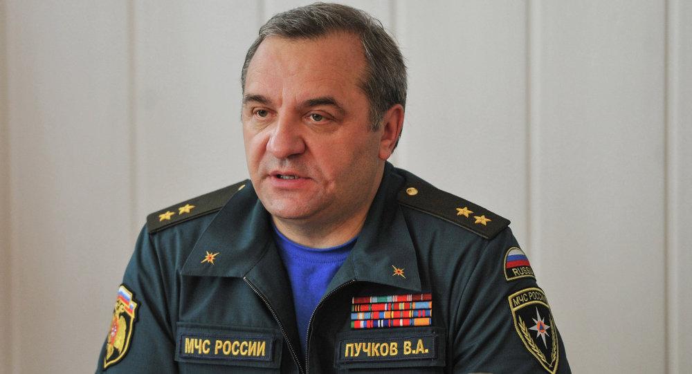 俄罗斯联邦紧急情况部部长弗拉基米尔•普奇科夫