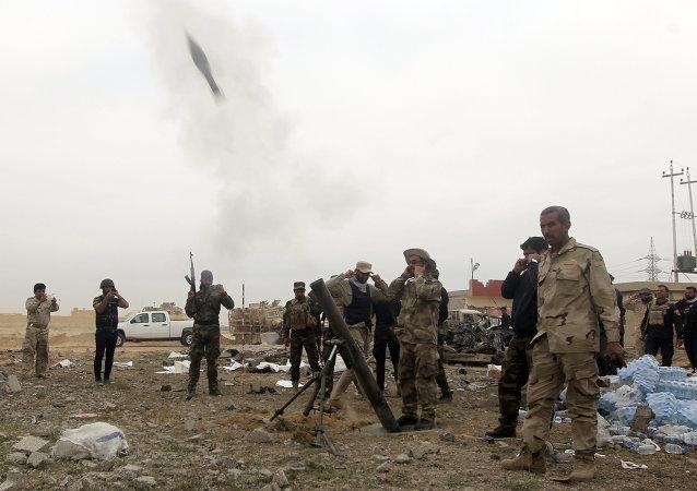 """伊拉克军队从""""伊斯兰国""""手中解放提克里特"""