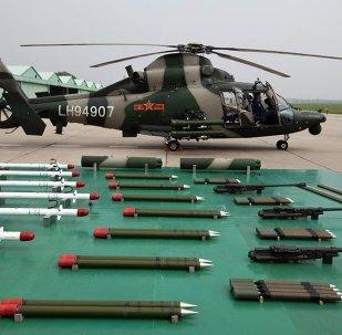 过去五年中国武器出口额增长38%