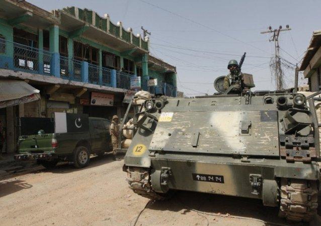 美国将来自阿富汗和伊拉克的军事装备交予巴基斯坦