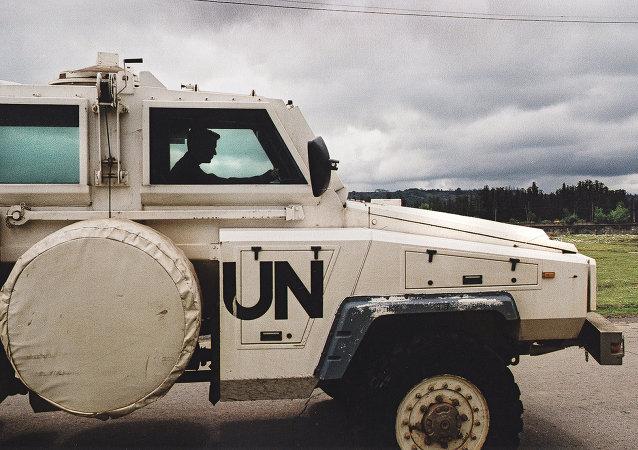 維持和平部隊(資料圖片)