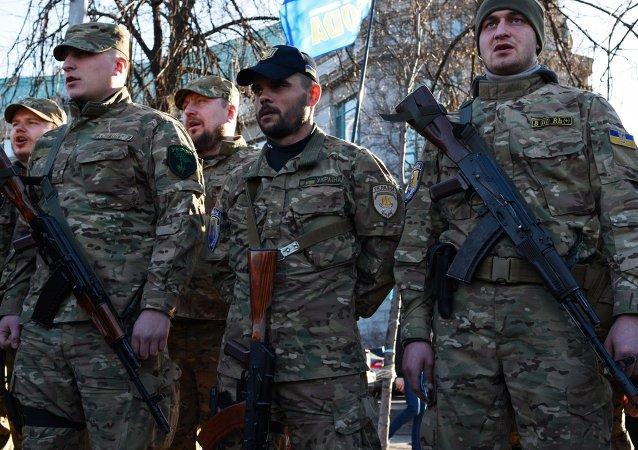 顿涅茨克共和国称乌强力人员破坏顿巴斯停火机制
