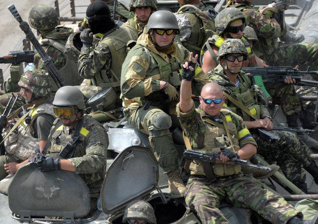 乌克兰军方预谋挑衅欧安组织特派团