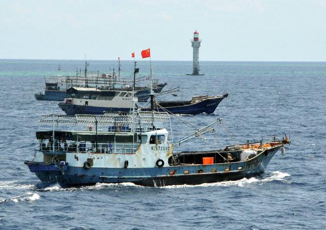 中国呼吁其他第三方国家不要介入中国南海领土争端