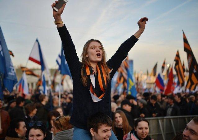 民调显示82%的俄公民为生活在俄罗斯而骄傲
