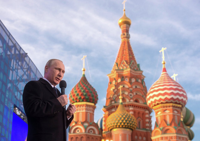 俄多数民众支持普京外交政策    对美国和北约持极端否定态度