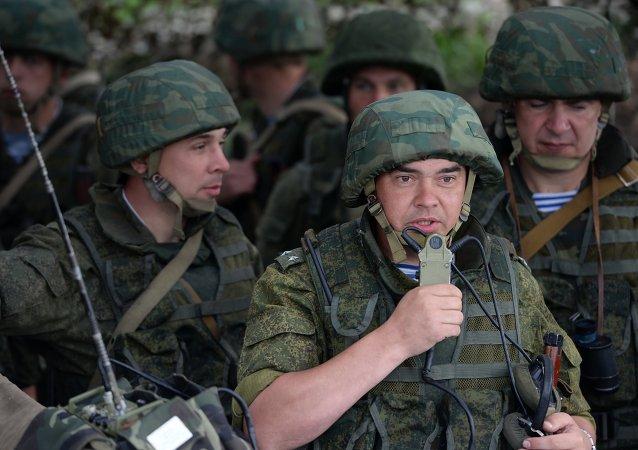 俄中央军区维和分队