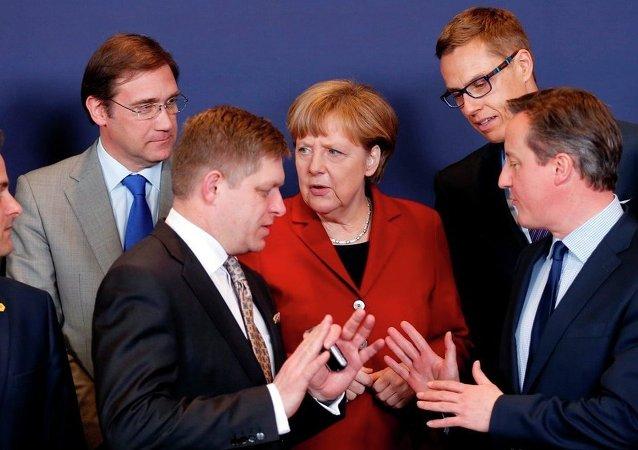 欧盟正看到对俄实施制裁的错误程度