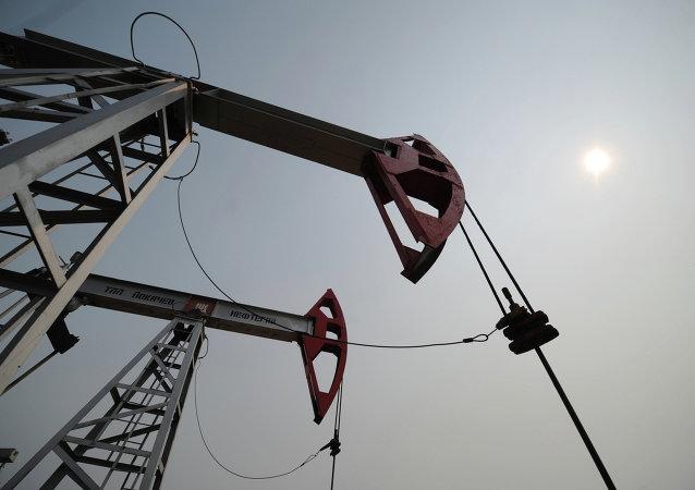 石油开采地