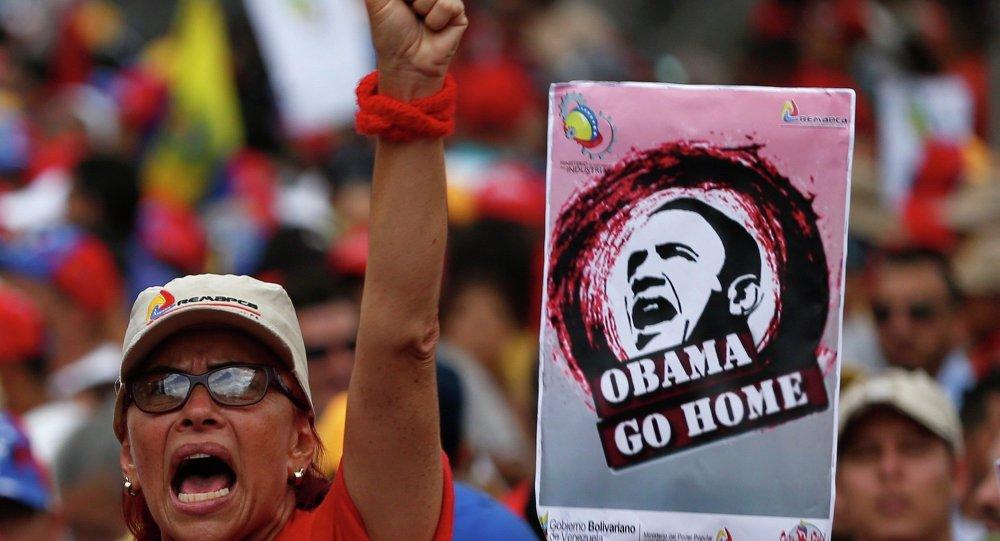 委内瑞拉收集了反对美总统命令的逾百万签名
