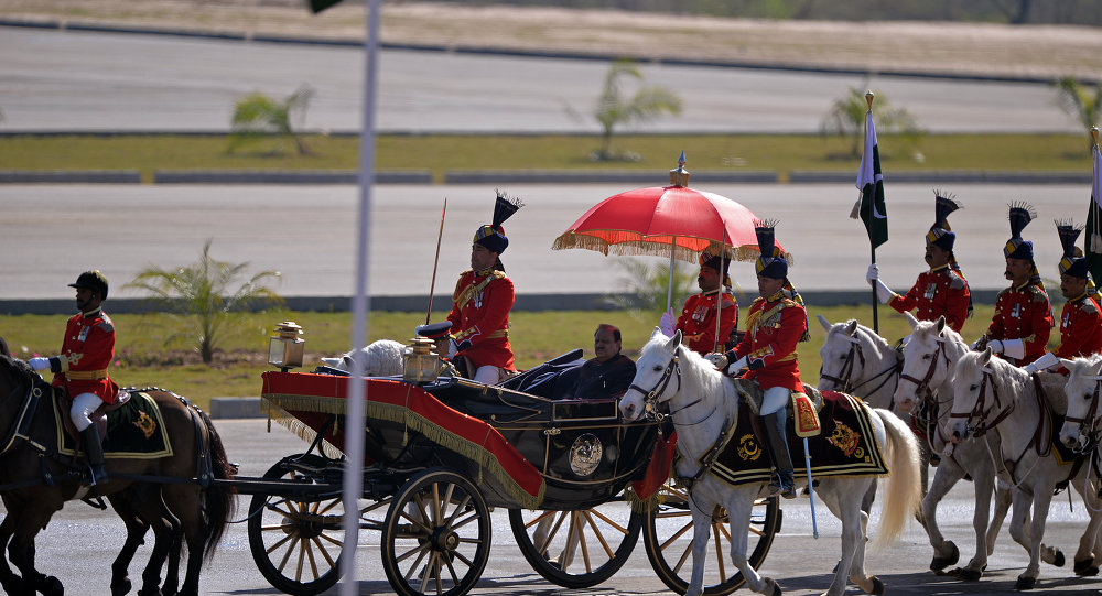 巴基斯坦七年来首次举行国庆阅兵