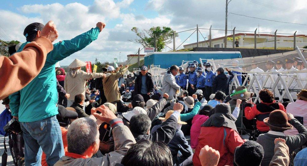 日沖繩縣政府威脅將阻止美空軍基地建設