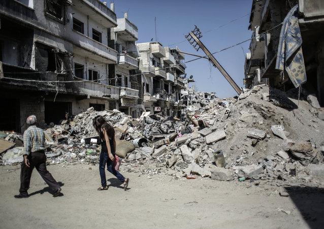 军用直升机在叙利亚阿勒颇坠毁,机组人员丧生
