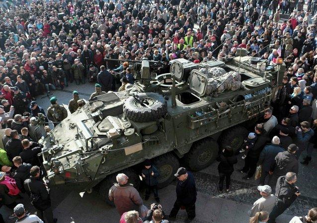 波兰正为美军常驻做准备