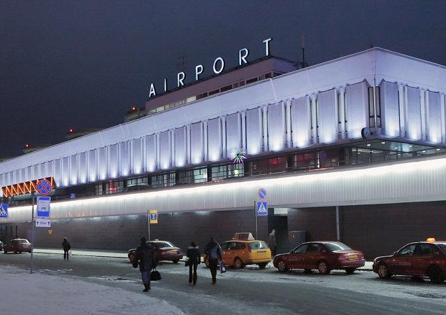 俄罗斯圣彼得堡普尔科沃国际机场