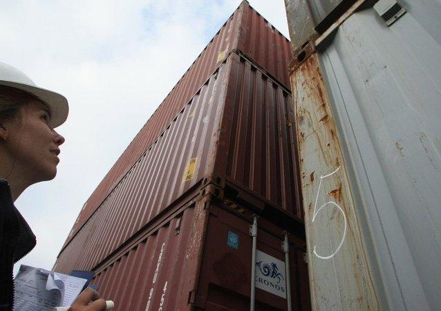东宁口岸前两个月食品进口量大幅增长
