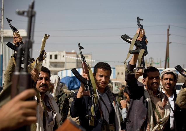 """媒体:也门政府呼吁联合国认定""""青年运动""""为恐怖分子"""