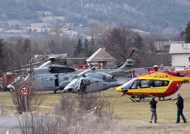 媒体:德翼客机失事前一飞行员被锁驾驶舱外
