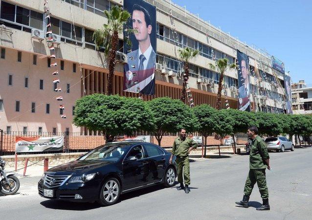 俄副总理在大马士革与叙领导人举行会谈