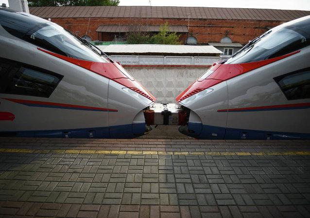 俄铁路:俄游隼号高速列车的游客半数为中国人