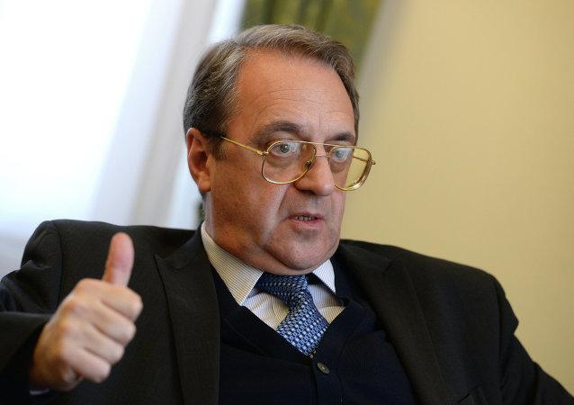 俄外交部副部长米哈伊尔∙波格丹诺夫