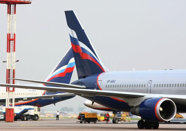 俄罗斯航空公司飞机