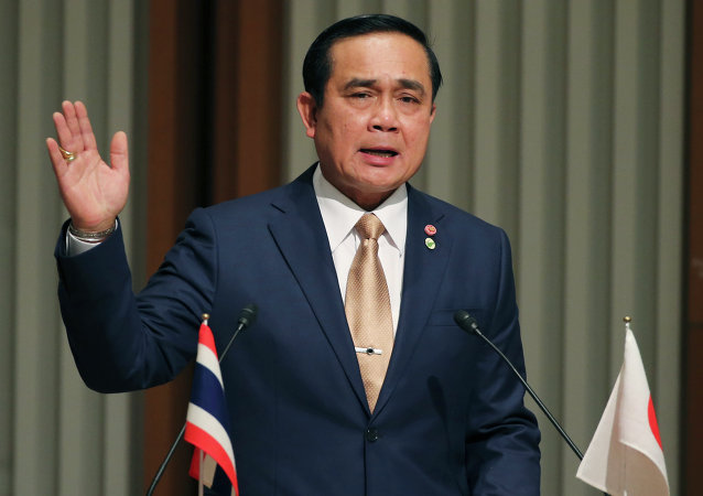 泰总理对政变后现政府取得的成就表示满意