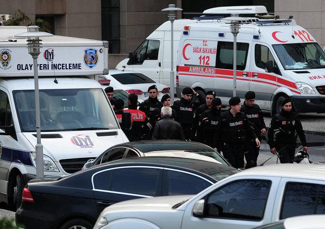 伊斯坦布尔警方成功解救被劫持为人质的检察官