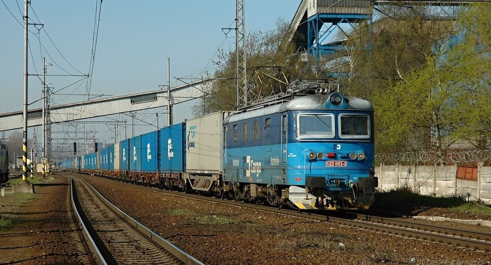 Transcontainer公司的集装箱列车