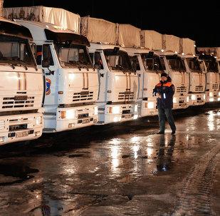 聯合國專員稱俄羅斯的人道主義援助對烏人民非常重要