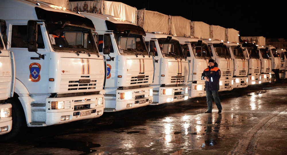 联合国专员称俄罗斯的人道主义援助对乌人民非常重要