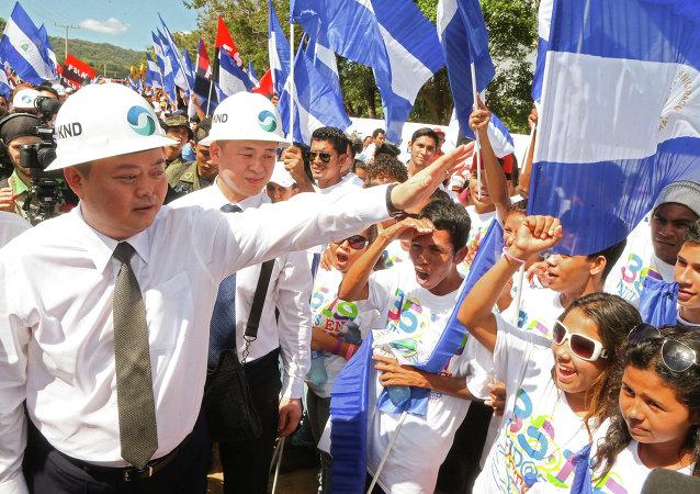 香港尼加拉瓜运河开发投资有限公司领导人王靖
