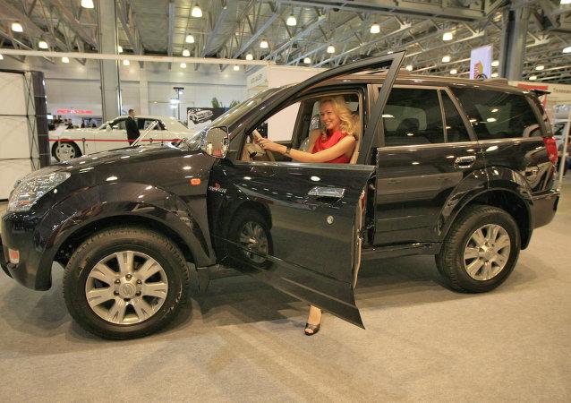 莫斯科汽车展览会