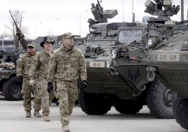 美国将增兵波兰巩固北约东翼 兵营明年4月抵达