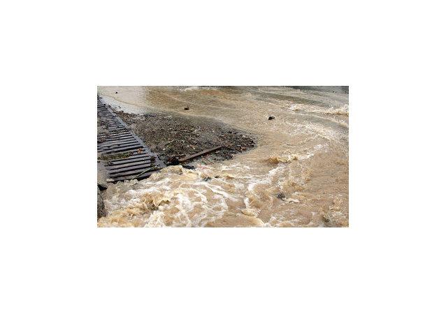 湖南暴雨连绵使大约24万人遭遇水灾