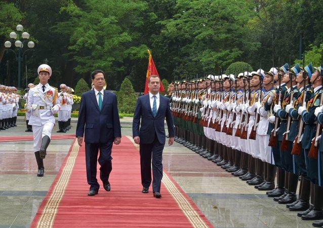 梅德韦杰夫:欧亚经济联盟与越南之间的自贸区协议很快就会签署