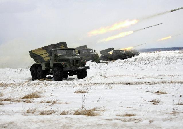 顿涅茨克人民共和国:乌军用冰雹火箭炮向顿涅茨克开火