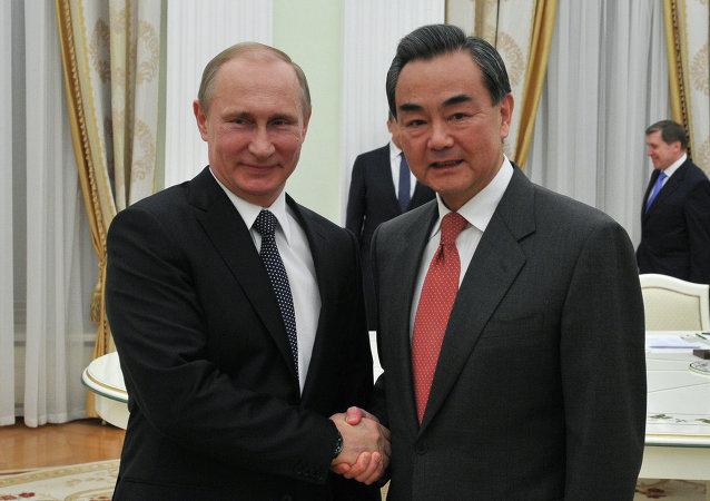 中国外交部:普京总统将于11日会见中国外长王毅