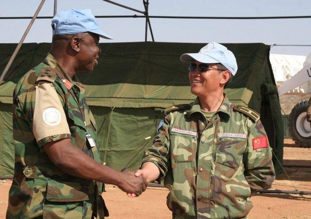 中国国防部:南苏丹社会治安状况仍然严峻 中国维和人员临危不惧