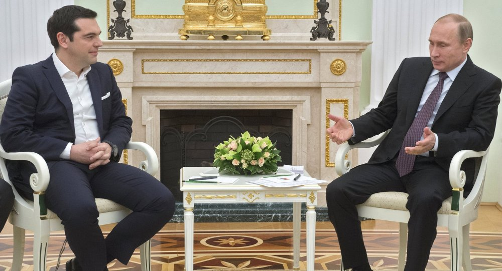 普京:俄罗斯与希腊需研究如何推动双边贸易额增长
