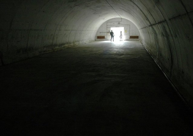 """美国空天防御部队将地下掩体的工作状态转到""""冷战""""时期"""
